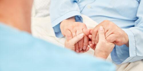 Podané ruce - ilustrační obrázek