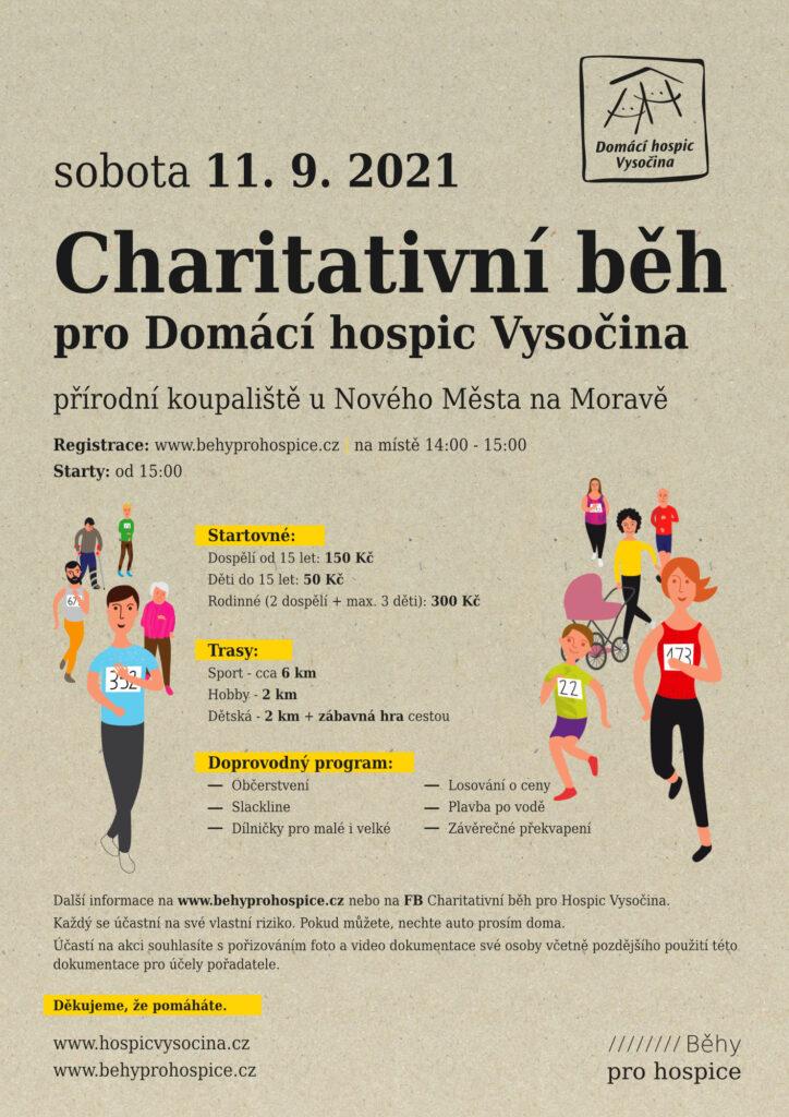 Plakát na Charitativní běh